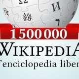 Wikipedia in italiano, oltre 1,5 milioni di voci