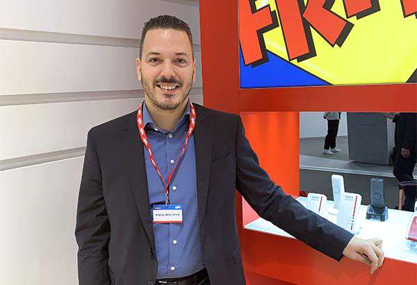 Andrea Belardinelli,Account Manager Provider di AVM