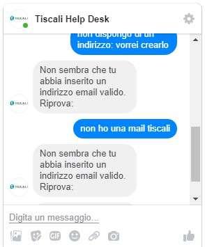 Assistenza Tiscali