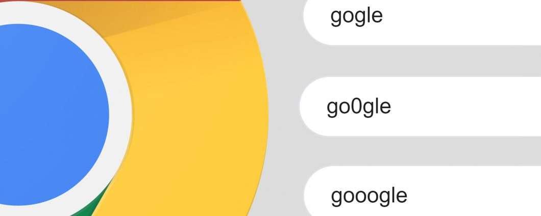 Chrome ti avvisa se sbagli a digitare l'URL