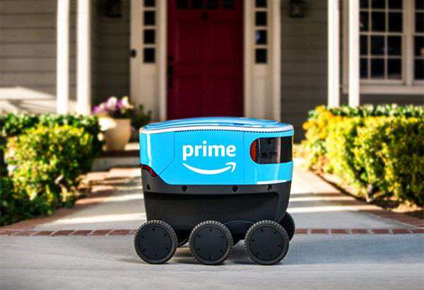 Amazon Scout, il robot autonomo per le consegne