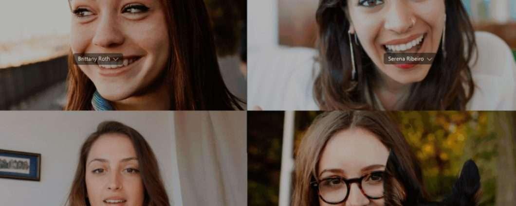 IA ed effetto bokeh per le chiamate di Skype