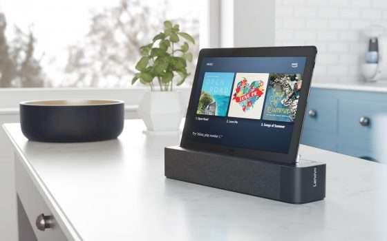 Lenovo Smart Tab con Alexa arriva in Italia