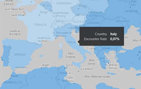 Miner di criptovalute: anche l'Italia tra i paesi colpiti