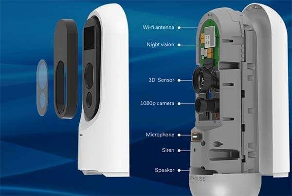 La videocamera di Lighthouse per la sicurezza della casa