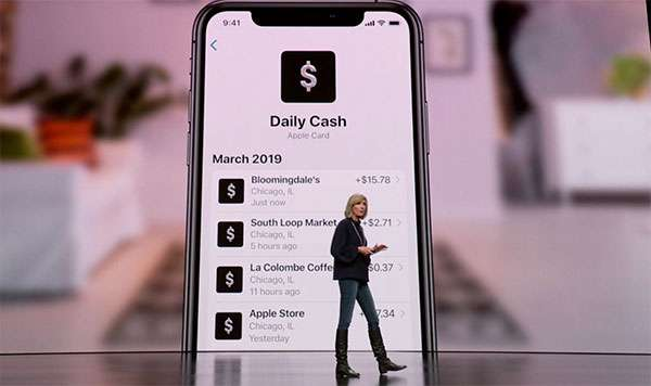Apple Card: Daily Cash