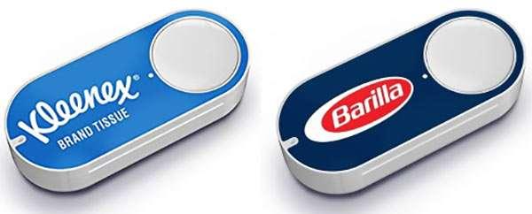 Alcuni Dash Button commercializzati fino ad oggi da Amazon