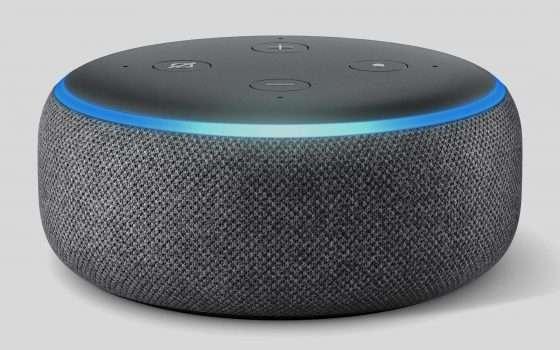 Amazon Echo Dot, tornano gli sconti oltre il 50%
