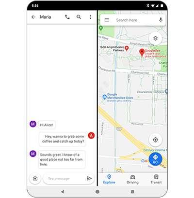 Android Q introduce il supporto ufficiale ai display pieghevoli