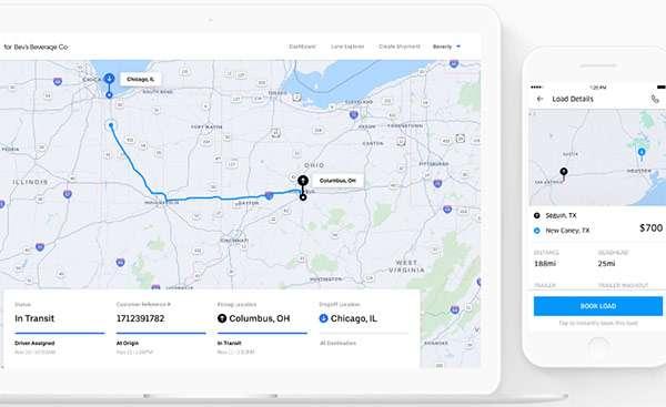 Uber Freight, la piattaforma
