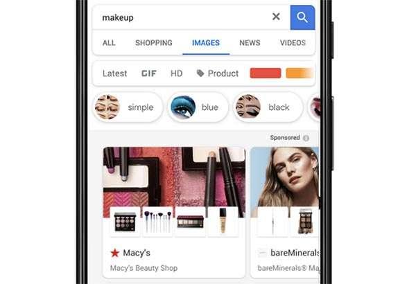 Le inserzioni Showcase Shopping di Google Immagini