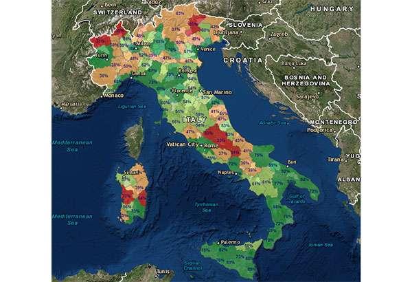 La connettività in Italia