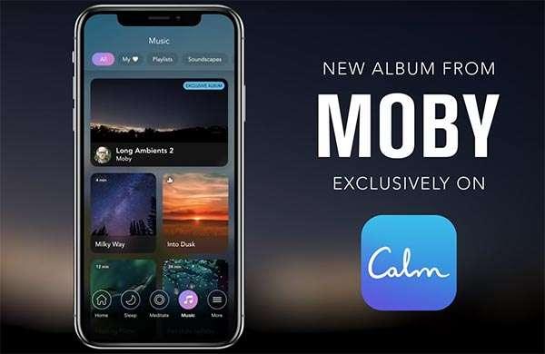 Long Ambients 2, il nuovo album di Moby, è un'esclusiva dell'applicazione Calm