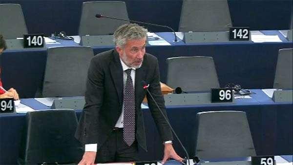 Il parlamentare europeo Morten Løkkegaard