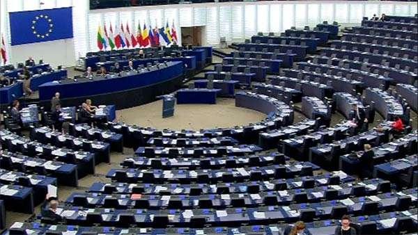 Il Parlamento Europeo riunito in seduta plenaria a Strasburgo