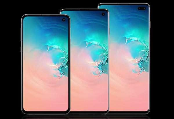 La famiglia di smartphone Samsung Galaxy S10: i modelli S10e, S10 e S10+