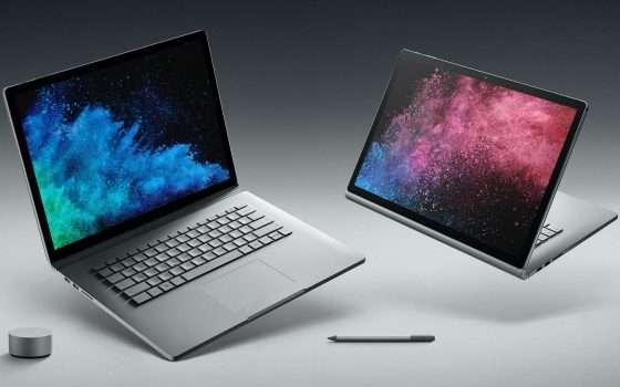 Il Surface Book 2 più economico diventa quad core?