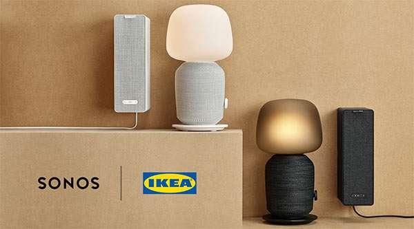 I prodotti della linea SYMFONISK di IKEA e Sonos