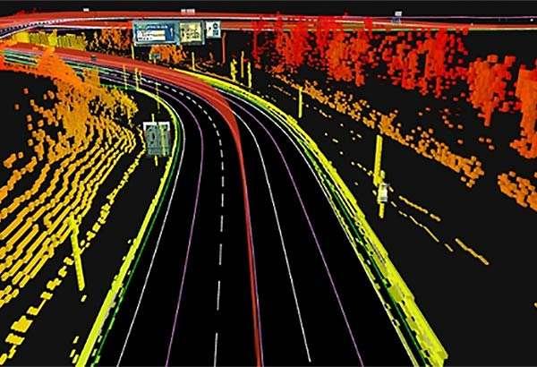 Le mappe in alta definizione di TomTom per la guida autonoma