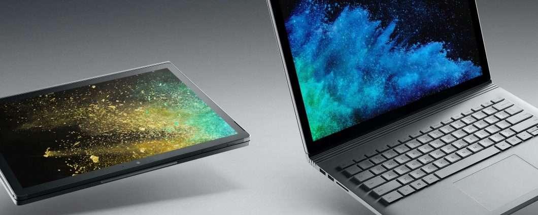 Upgrade per la CPU del Surface Book 2 più piccolo