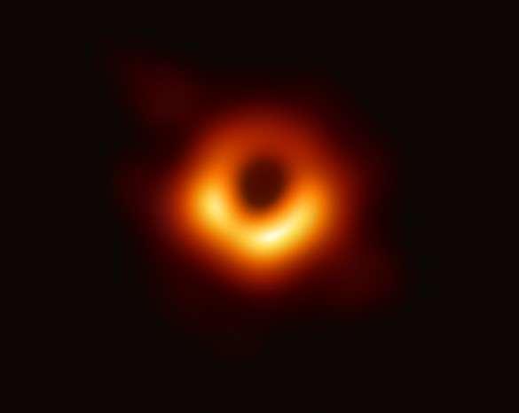 L'immagine del buco nero M87