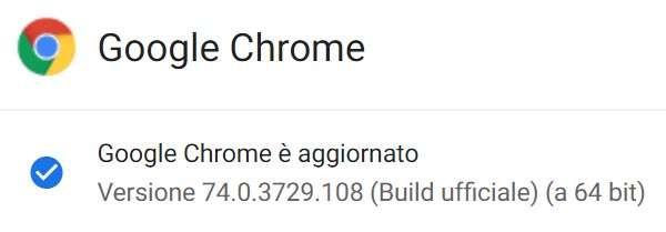 Google aggiorna il browser Chrome alla versione 74