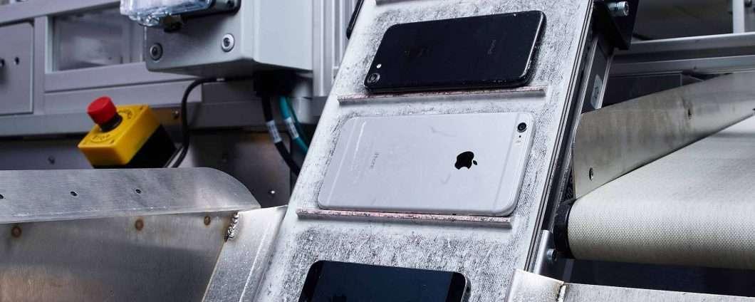 Apple punta su riciclo e recupero dei materiali