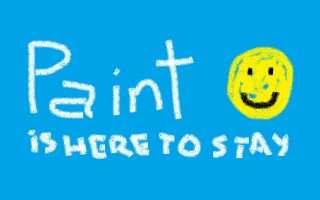 Windows 10: Paint è salvo, lunga vita a Paint