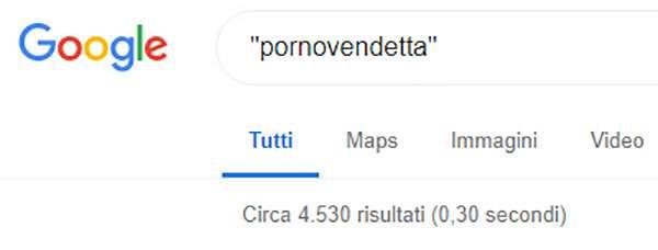 L'utilizzo del termine Pornovendetta