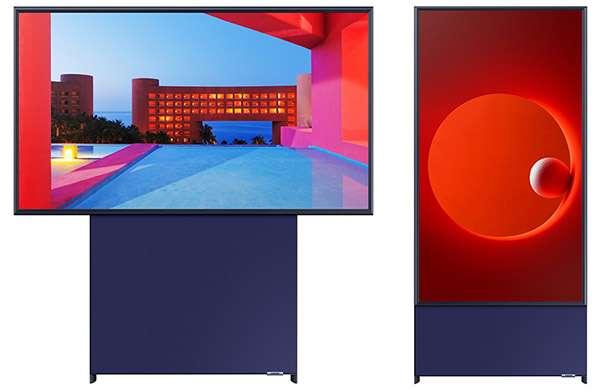 Samsung Sero, la TV che ruota e diventa verticale