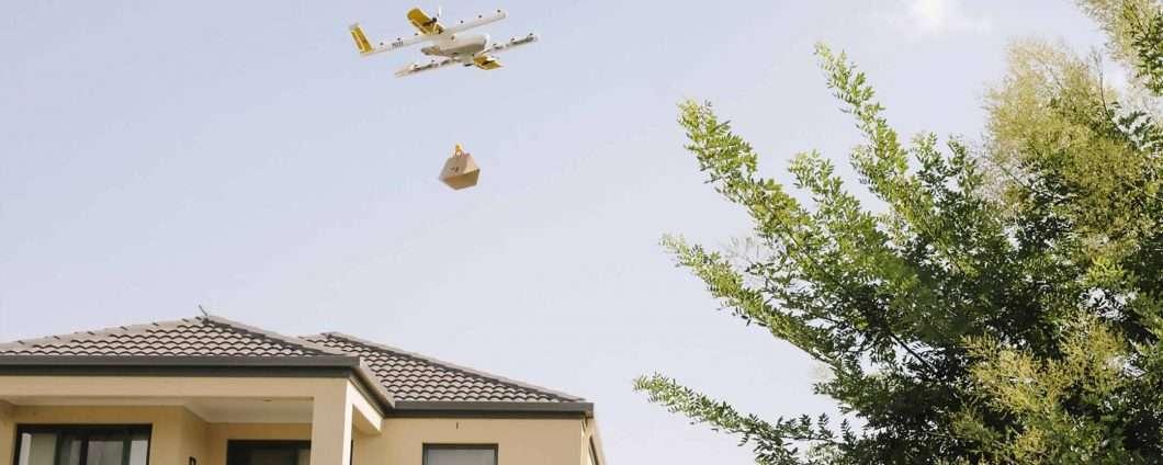 Wing, in Australia la consegna arriva con un drone