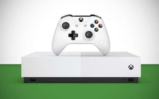 Ecco la nuova Xbox One S All-Digital Edition