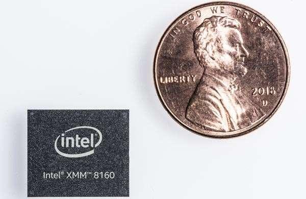 Il modem XMM 8160 di Intel per il 5G