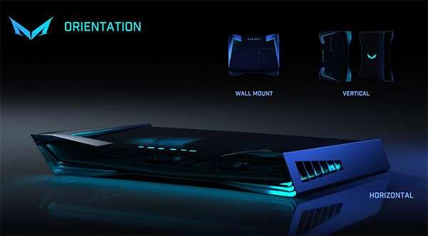 Il design della console Mad Box di Slightly Mad Studios