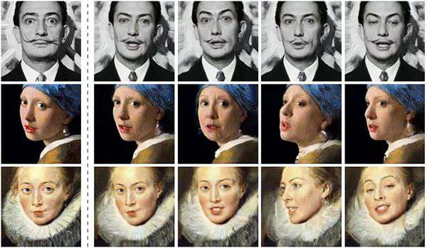 L'IA e i deepfake creati, ispirati al mondo dell'arte