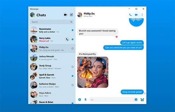 L'applicazione desktop di Messenger