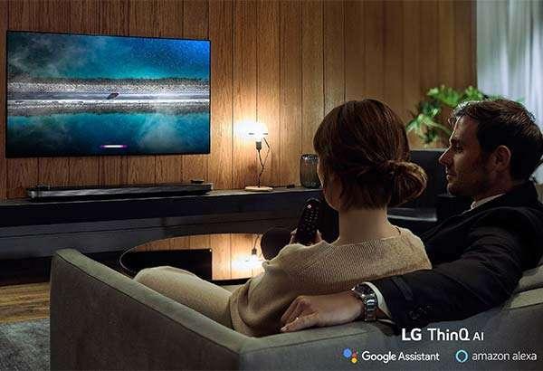 L'intelligenza artificiale dell'assistente Alexa di Amazon sui televisori LG della linea ThinQ