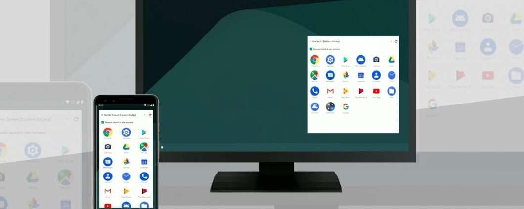 Una modalità desktop nascosta in Android Q