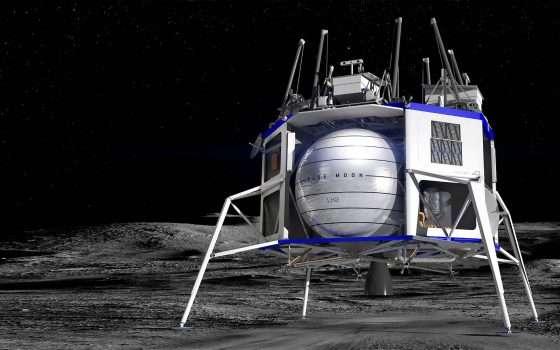 Torneremo sulla Luna con Blue Moon di Jeff Bezos