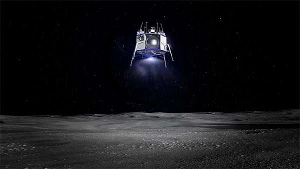 Il lander Blue Moon di Blue Origin