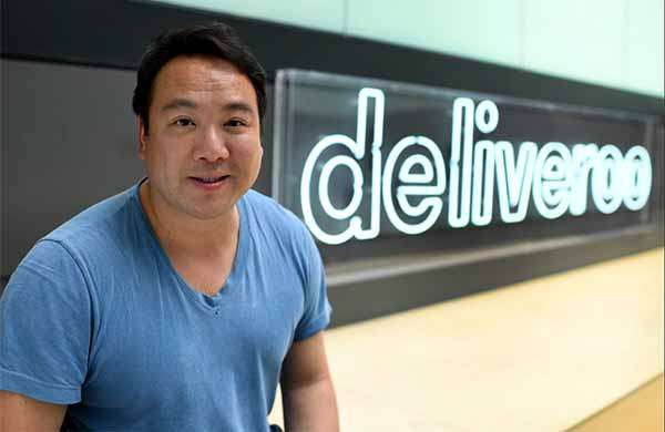 Will Shu, fondatore e CEO di Deliveroo