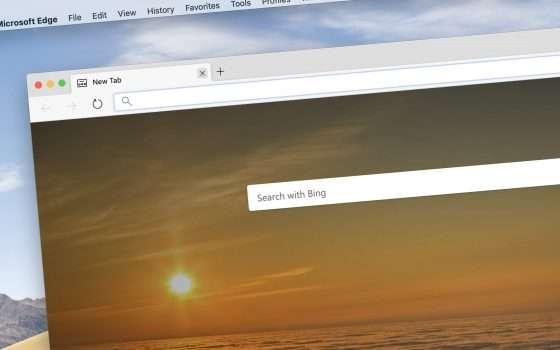 L'anteprima di Edge per Mac è in download