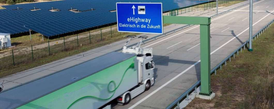 eHighway, l'autostrada elettrica di Siemens
