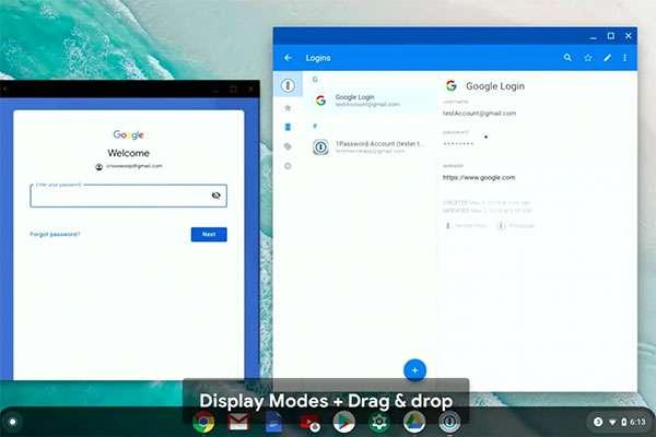 La modalità desktop di Android Q