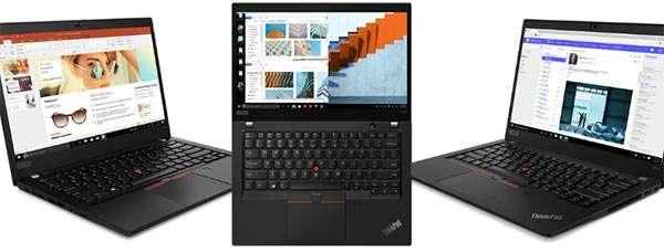 I nuovi laptop Lenovo ThinkPad T495, T495s e X395