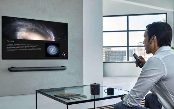 L'IA di Alexa sui televisori LG della serie ThinQ