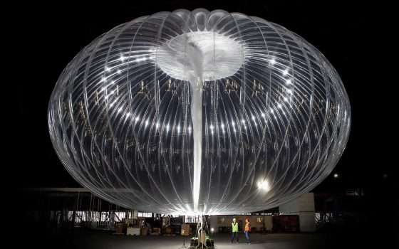 Alphabet sospende il Project Loon