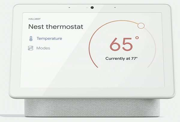 Lo smart display Nest Hub Max