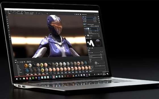 NVIDIA presenta Studio per i creatori di contenuti