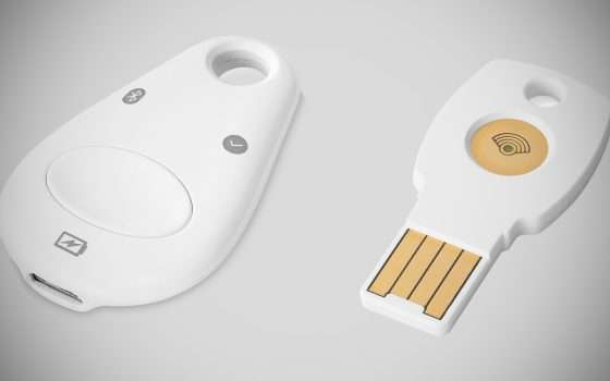 Un bug per le Titan Security Key BT di Google